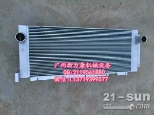 日立ZX210LC-3挖掘机五十铃4HK1水箱散热器 水泵