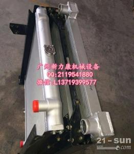 日立ZX520LCR-3挖掘机五十铃6WG1水箱散热器 水泵