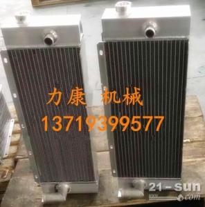 神钢SK210LC-8挖掘机日野J05E水箱散热器 水泵