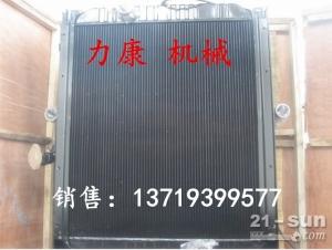 神钢SK350LC-8挖掘机日野J08E水箱散热器 水泵