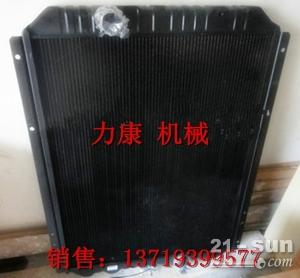 神钢SK250-8挖掘机日野J05E水箱散热器 水泵