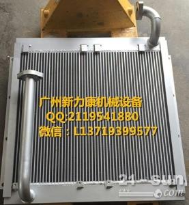小松PC60-7挖掘机4D95LE水箱散热器 水泵