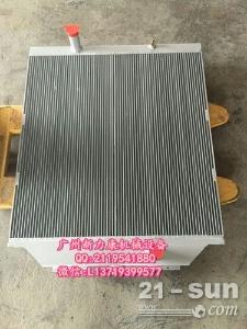 小松PC110-7挖掘机SAA4D95LE-3水箱散热器 水泵