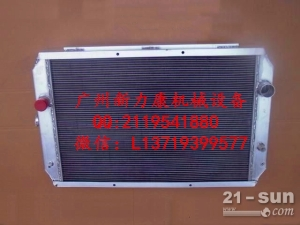 小松PC650L挖掘机 SAA6D140E-5水箱散热器 水泵