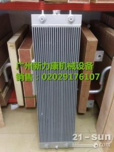 小松PC240LC-8挖掘机SAA6D107E-1水箱散热器 水泵