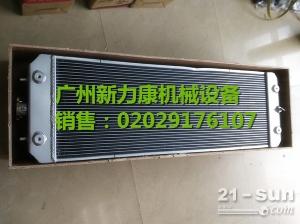小松PC78US-8挖掘机 SAA4D95LE-5水箱散热器 水泵