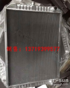 小松PC400-7挖掘机SAA6D125E-3水箱散热器 水泵
