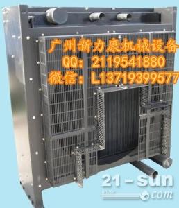 小松PC160LC-8挖掘机SAA4D107E-1水箱散热器 水泵