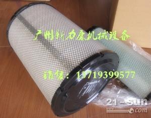 大宇斗山DH55空气滤芯 唐纳森滤芯P569381  P16...