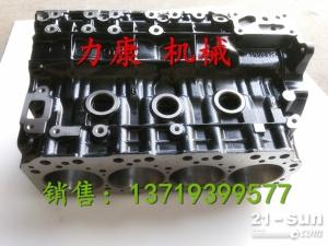 神钢SK75-8挖掘机五十铃4LE2发动机缸体