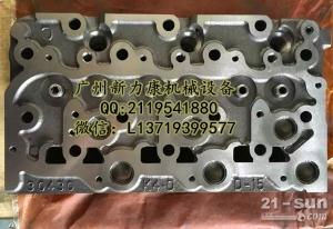 神钢SK75-8挖掘机五十铃4LE2发动机缸盖