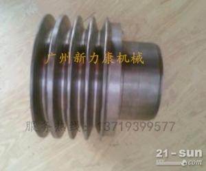 神钢SK75-8挖掘机五十铃4LE2发动机皮带轮 张紧轮