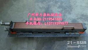 神钢SK75-8挖掘机五十铃4LE2发动机中冷器