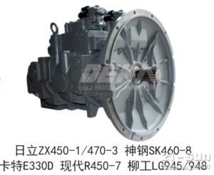液压泵日立ZX450-1/470-3神钢SK460-8卡特E330D现代R450-7柳工LG945