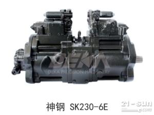 液压泵神钢SK230-6E