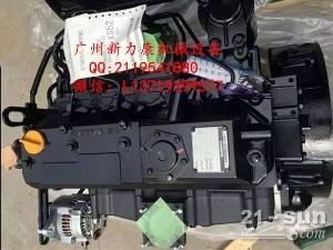 神钢SK75-8挖掘机五十铃4LE2发动机柴油泵总成