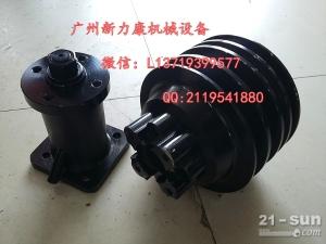 神钢SK75-8挖掘机五十铃4LE2发动机皮带轮