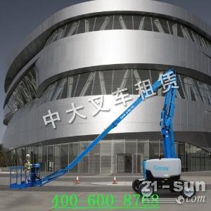 五莲县单桅杆高空作业平台8-14米供应商:华晟叉车/中大叉车...
