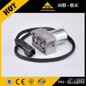 泰州小松挖掘机配件价格售后贵阳PC200-8M0原厂液压泵电磁阀价格702-21-62200