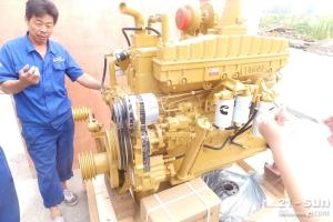 济宁亚东供应原厂发动机NT855-C280S10 SO号:15596
