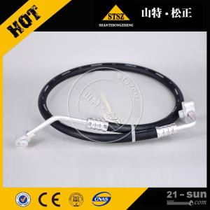 六安小松挖掘机配件代理店售后供应PC450-8原厂空调软管2...