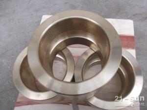批量生产掘进机配件耐磨前铜套