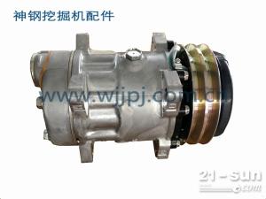 神钢装载机空调压缩机