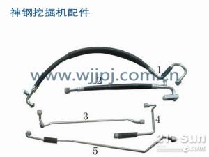 神钢装载机空调管线