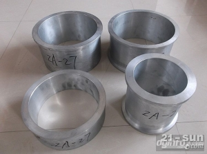 专业铸造开卷级用耐磨锌基合金套