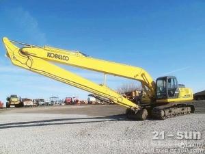 科德机械供应三一SY385H-9挖掘机加长臂,两段式加长臂20米清淤泥