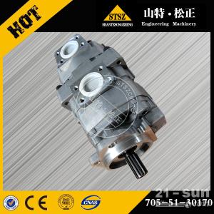 山特松正现货供应小松LW250-1吊车齿轮泵价格质量好705-51-30170
