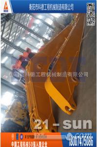 中联重科ZE230E挖掘机改装加长臂,二段式加长臂清淤