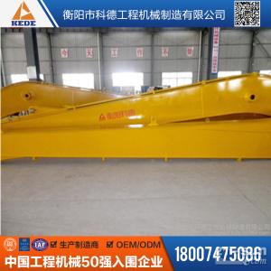 供应福田雷沃FR220挖掘机加长臂,16米两节长臂清淤修坡