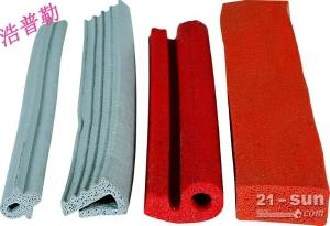 定制医用设备硅胶密封条批发  各种机械硅胶发泡密封条可开模批量生产