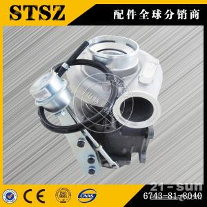无锡专业生产小松WA380-6装载机SAA6D107发动机增压器质量好价格低6754-81-8180