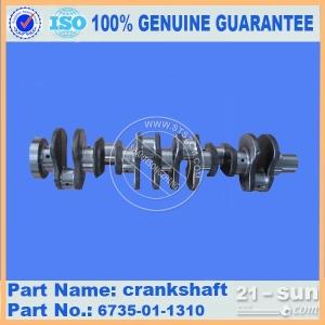 专业供应小松6D170发动机连杆6162-33-3101 小松发动机配件 小松原厂配件