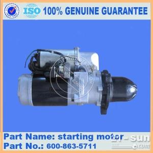 专业小松WA600-3发电机600-825-6720 徐新进 小松启动马达 小松原厂配件