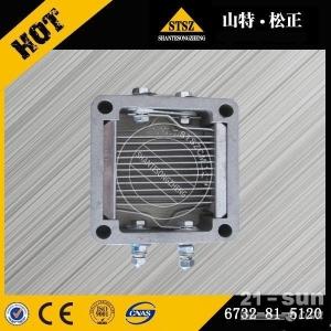 山特松正十堰批发小松PC160LC-7挖掘机SAA4D102发动机加热器配件6732-81-5120