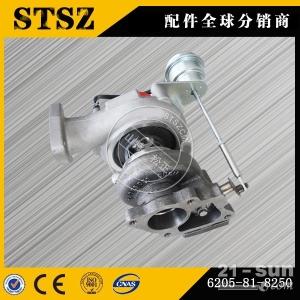 山特松正供应加蓬小松PC160LC-7挖掘机SAA4D102发动机原厂增压器6737-81-8090