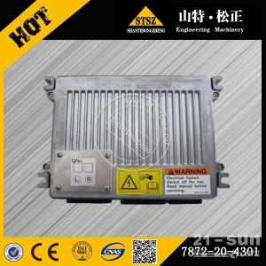专业供应小松PC400-7发动机电脑板 7872-20-4301山特松正徐新进13605470297