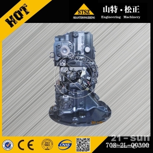 专业供应小松挖掘机配件PC200-6前泵壳708-2L-04240 山特松正徐新进
