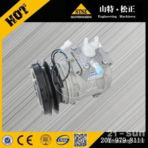 专业供应小松挖掘机配件 PC200-6空调控制面板20Y-9...