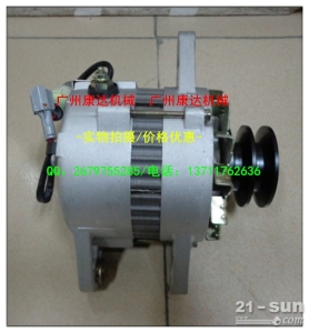 40A五十铃6BG1发电机1-81200-249-3