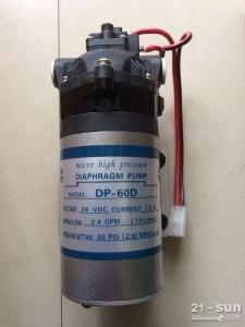 徐工压路机配件 洒水泵