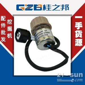 安徽雷沃FR170挖机油门旋钮(圆)RJ03-610000-...