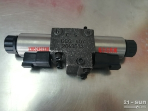 徐工压路机振动电磁阀 力士乐A4VG56液压泵电磁阀 振动阀