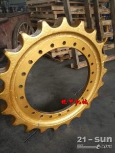 厦工XG808驱动齿 厦工小型挖掘机底盘件四轮一带