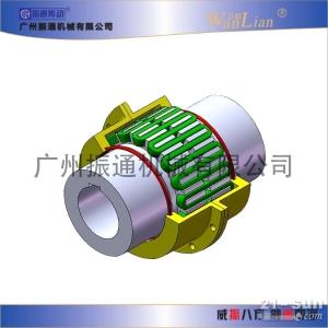 振通传动JSB型罩壳轴向安装型蛇形弹簧联轴器
