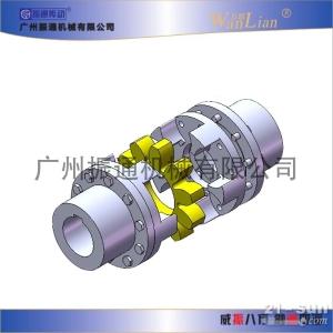 振通传动ZT-SF型带法兰星型弹性联轴器