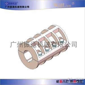 振通传动JQ型夹壳联轴器
